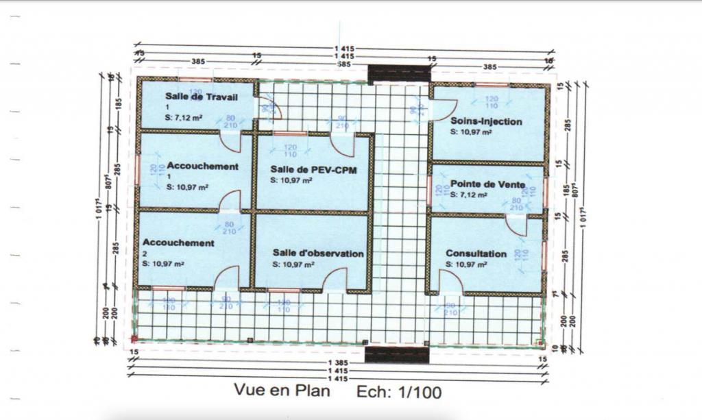 Clinic Floor Plan 2